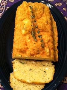 Lemon thyme feta loaf
