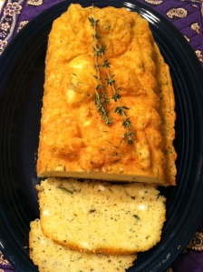 "Lemon thyme feta bread from ""Creamery Kitchen"""
