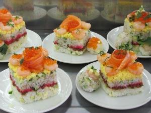 Our sushi for Girls' Day (Hina Matsuri)