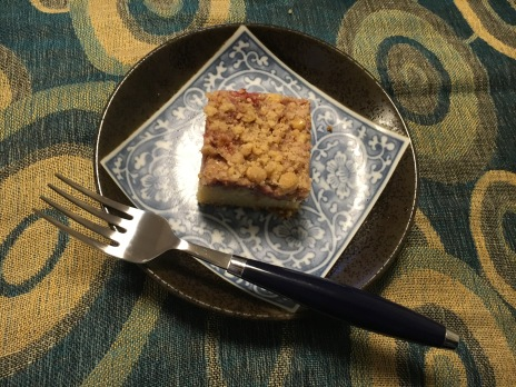 Mama's strawberry coffee cake