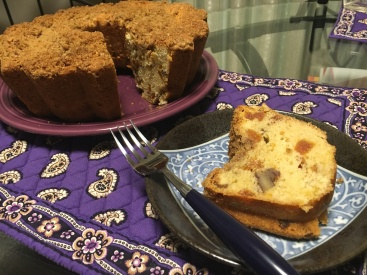 Apricot coffee bread