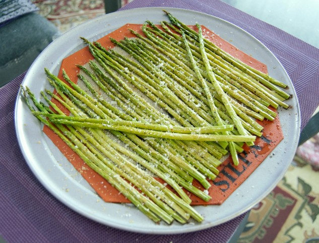 Parmesan-Roasted Asparagus
