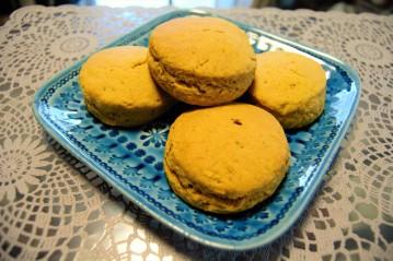 Cinnamon Sweet Potato Biscuits